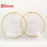 Wholesale Hot Sale Free Basketball Wives Gold Plated Wine Glass Charm Rings earring Hoops Dangle Drop mm Dia w01609 F Aa