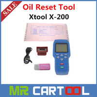 For Honda audi free maintenance - 2015 Original XTOOL X X200 Oil Reset Tool professional hand auto maintenance resetter DHL