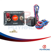Wholesale PQY STORE Racing Car Electronics Switch Kit Panel Engine Start Button toggle with accessory PQY QT311