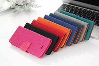 iphone 5 accessories - Book Flip Cloth Skin Leather Case For iPhone S S S Plus Fashion Hit Color Full Protective Accessories Cover
