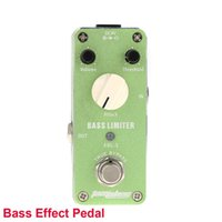 bass limiter - Aluminum Alloy Housing True Bypass Aroma ABL Bass Limiter Mini Portable Electric Bass Effect Pedal with Magic Tape