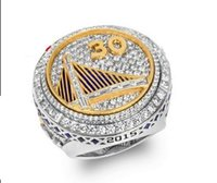 Wholesale Newest American Golden State Professional Basketball Curry Lguodala Championship Rings For Vintage Men Jewelry US10
