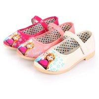 girl shoes - 3 Color Frozen Baby Shoes Girls Favorite Cartoon PU Shoes Elsa Shoes Anna Shoes Children Fashion Shoes Kids Cute Shoes B001