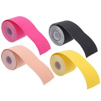 adhesive tape - Kinesiology Kinesio Roll Cotton Elastic Adhesive Muscle Sports Tape Bandage Physio Strain Injury Support H14085