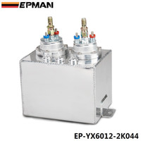 Wholesale EPMAN Universal L Aluminium Dual High pressure Fuel Pump Conventionally Plumbed In Series With Surge Tanks EP YX6012 K044