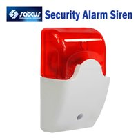 Warning Light alarms ads - Mini Strobe Siren V Security Alarm Siren Wired Flash Sound Alarm AD Satcus