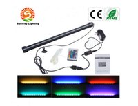 Wholesale 110V V Fish Tank Lighting CM CM CM CM CM CM CM Air Bubble RGB LED Aquarium Light LED Fish Tank Lights IP68 LED Light Bars