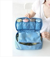 Wholesale Latest New Portable Protect Bra and Underwear Lingerie Case Hot Sale Travel Organizer Bag Waterproof Bags colors SKY018