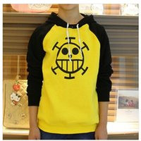 Cheap Trafalgar Law Hoddy Cosplay Costume Anime One Piece Sweatshirt Death Surgeon Clothes Hoodie Jacket Winter More Thick More Warmer