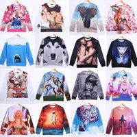 fashion clothes for men - 20 style Hot New Fashion For Men Printed Sexy Funny D Hoodies Figure Pullovers Sweaters Animals Olaf Sweatshirts Sport Casual Clothes