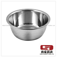 Wholesale Stainless steel basin sauce basin kitchen soup pots container bowl