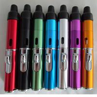 Wholesale Click N Vape sneak A vape sneak a toke smoking metal pipe Vaporizer tobacco Wind Proof Torch Lighter