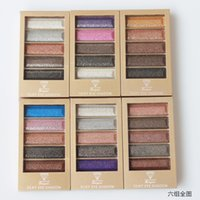 naked eye - Brand Makeup Color Eyeshadow Warm Color Eye Shadow Style Shadow to Eyes Naked Eye shadow Palette with Brush Freeshipping