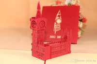 thank you cards - Big Ben Handmade Creative Kirigami Origami D Pop UP Travelling Greeting Gift Cards thank you cards