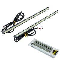 Wholesale Trustworthy x V LED Car DRL Fog Driving Lamp Strip Daytime Running Light Waterproof White Cami