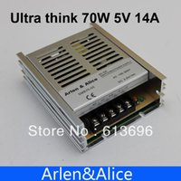 Wholesale 70W V Ultra thin Single volt Output Switching power supply for LED Strip light V V INPUT
