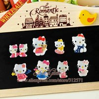 Wholesale Hello Cat PVC Fridge Magnet Sticker Cute Funny Refrigerator Toy Blackboard magnets refrigerator magnetic