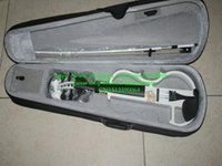Wholesale New arrival Electric Violin Outfit White Electric violin WITH CASE
