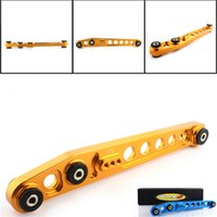 Wholesale 1 pair SKUNK2 JDM HIGH quality RACING REAR LOWER CONTROL ARMS FOR CIVIC EK Chassis colors