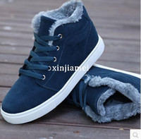 Cheap 2014 new men shoes sneakers casual winter high warm cotton padded ankle boots uk style snow boots Skateboard shoes 8a105