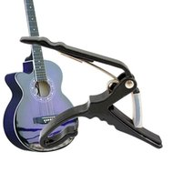 Wholesale High Quality Black Classic Quick Change Clamp Key Capo For Electric Guitar Guitarra Parts Accessories E5M1