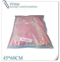 45 * 60cm 20pcs / bag, los bolsos de empaquetado de la eva de la prueba de la humedad los bolsos de compras de la almohadilla del hogar aceptan personalizan la insignia