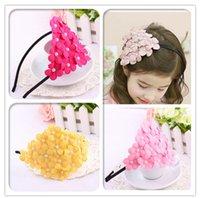 beautiful photography - Beautiful pearl flowers princess Hairpins Children headdress Children s Photography props birthday gift free E38