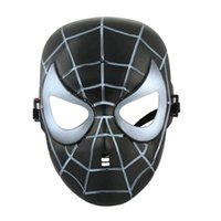 animations films - Red black spiderman cosplay mask halloween holiday party props film television animation cartoon masks LW81