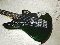 Wholesale Green Strings Jaguar Electric Bass Rosewood Fingerboard New Arrival Guitars
