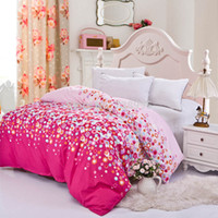 Wholesale home textile pc duvet cover cm not include comforter quilt cover clothing pc set rainbow villa town queen size