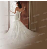 Wholesale New arrival hot sale fashion spike sweety royal palace damond Bra sexy halter Slim fishtail trailing princess bride wedding dress