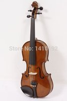antique violin case - Autumn Promotion Full Size Antique Tiger Violin with Hard Case Shoulder Rest Bow Rosin and Strings