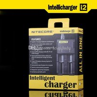 Cheap Genuine Nitecore I2 Universal Charger for 16340 18650 14500 26650 Battery 2in1 Muliti-Function Intellicharger Rechargeable charger