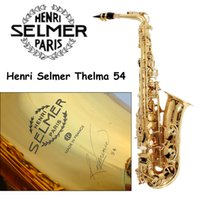 baritone instruments - Best Selling French Selmer E Flat Alto Saxophone Reference Electrophoresis Gold Saxe Top Musical Instrument Sax baritone