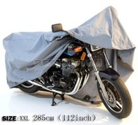 Wholesale XXL Big Size cm Motorcycle Motorbike Waterproof Cover Outdoor Indoor UV Protect inch order lt no track