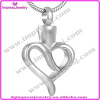 Wholesale IJD9099 Hot Cremation Jewelry Cheapest Price Ashes Necklace with cm snack chain funnel and filling specifications