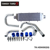 Wholesale Tansky High Quality Aluminum Intercooler Kit FOR HONDA CIVIC B16 With No Logo TK HDIK0022Q Have In Stock