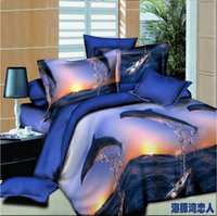 best comforters - Best Quality D Bedclothes Bedding Sets King Queen PC Comforter Cover PC Bed Sheet Pillow Covers Dolphin Love