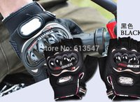 active pro gear - Pro biker knight Motorcycle Bike Bicycle Half Finger Protective Gear Racing Gloves Performance Racing Accessories SG