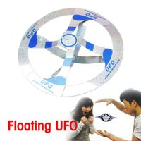 Wholesale New Cool Mystery UFO Floating Flying Saucer Magic Toy Trick F NIVE