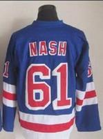 61 - Rangers Rick Nash Blue Home Hockey Jersey New Season Hockey jerseys Buy Various Hockey Jersey