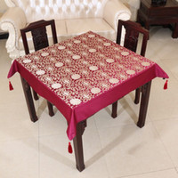 banquet size table linens - Multi size Vintage Decorative Table Cloth Table Linen Luxury Chinese style High End Table Covers for Banquet Wedding Party