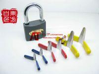 honest wholesale - honest Padlock tool Picks Aircraft Folder Set Padlock Pick Locksmith Tools Lock Pick Set Unlock Lockpick