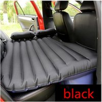 purple car seat covers - DHL Car Seat Covers Inflatable Mattress Car Air Bed Travel Thickening Bed Camping Mat car bed Air Pump Pillow