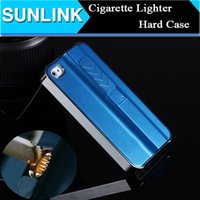 cigarette lighter case - Lighter Cigarette Wild Fire Case Hard Cigarette Lighter Smoking Gadget Cover for iPhone S S Plus Galaxy S4 S5 S6 Edge Plus Note