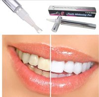 Wholesale Popular White Teeth Whitening Pen Tooth Gel Whitener Bleach Remove Stains oral hygiene Free shipp for DHL a819