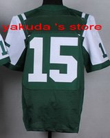 Wholesale 2015 New Player Green Elite Jersey Discount Cheap Customized Football Jersey Customized best Quality Jersey fast Shipping