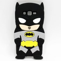 batman cell phone case - For Samsung Galaxy Grand Prime G530 Core G355H Core Plus G350 Case D Silicone Batman Captain American Soft Cell Phone Back Cases Covers