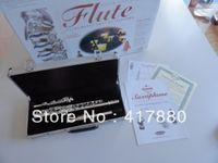 Wholesale Great Suzuki SUZUKI17 hole openings Silver plus the E key flute tail pipe column type