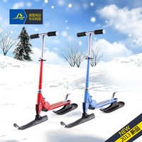 Wholesale Children s latest and most unusual dual snowmobile skis